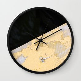 Chipped Paint and the Dark Deep Wall Clock