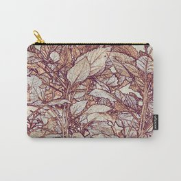 abstract camouflage leaves Carry-All Pouch