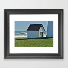Point Judith after the Storm © Framed Art Print