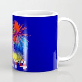 America 4th of July Fireworks Coffee Mug
