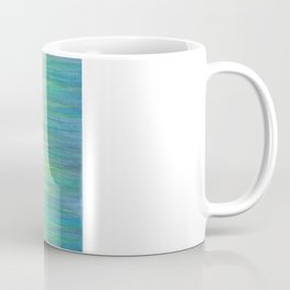 Ombre Aqua Bliss painting Coffee Mug