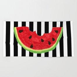 Cool Watermelon Beach Towel