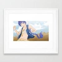 aladdin Framed Art Prints featuring Aladdin by EeNii