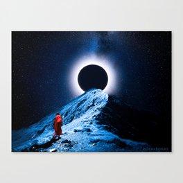 Mountain Monk Canvas Print