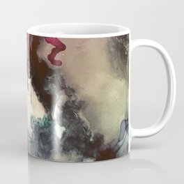 Dark Inks - Alcohol Ink Painting Coffee Mug