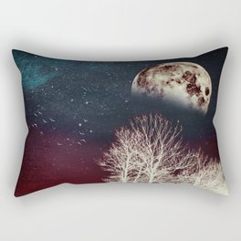 Surrender To The Night Rectangular Pillow