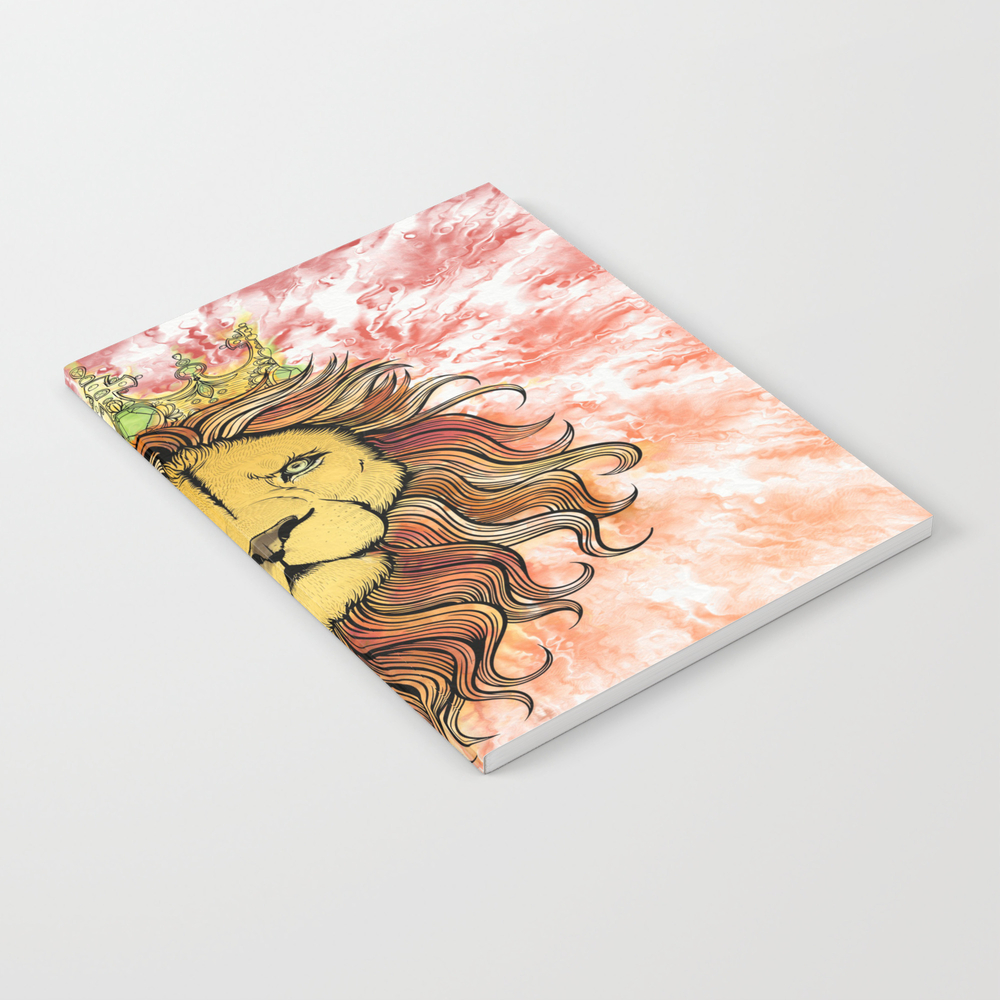 King The Lion Notebook by Salomemika NBK8259015