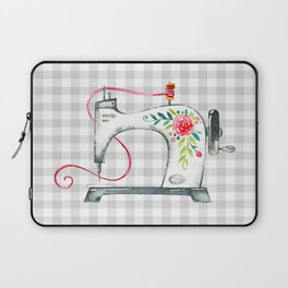 Floral Sew Laptop Sleeve