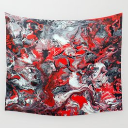 Red Dream Wall Tapestry