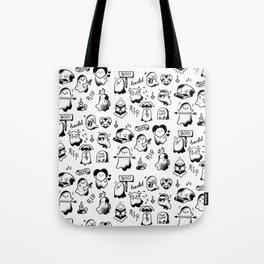 Ghosties Tote Bag