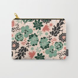 Succulent flowerbed Carry-All Pouch
