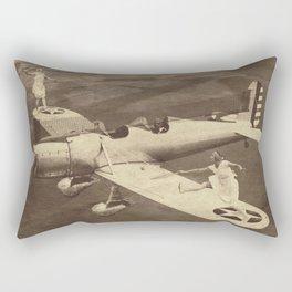 Extreme Tennis Rectangular Pillow