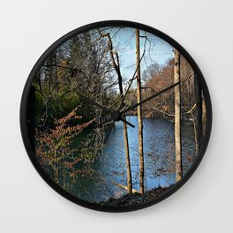 View of Paradise Wall Clock
