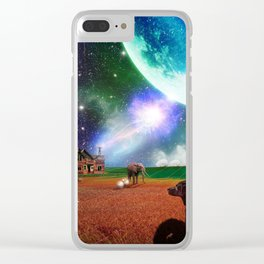 A Most Unusual Evening Clear iPhone Case