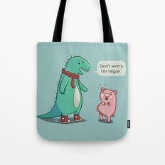Bacon is TOO mainstream. Tote Bag