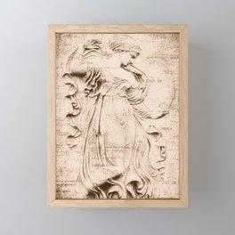 Dream Dance Live in Coral Stone Framed Mini Art Print