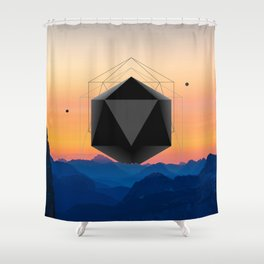 Sunrise Intruder Shower Curtain