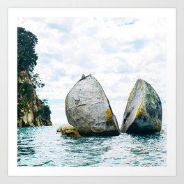 Split Rock Art Print