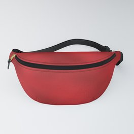 Bold Red Foil Rippled Texture, Holiday - Christmas Fanny Pack