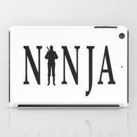 ninja iPad Cases featuring NiNJA by chanchan