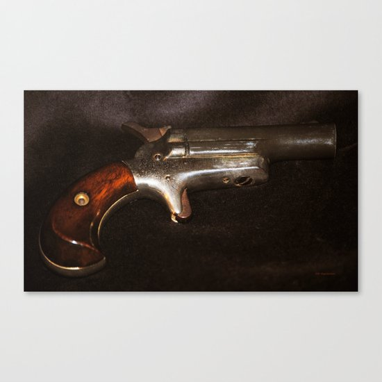 Derringer Canvas Print