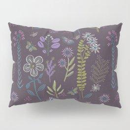Medieval Botanial Pillow Sham