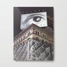 The Eye in the Sky Metal Print