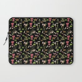 Orchid Collage Laptop Sleeve