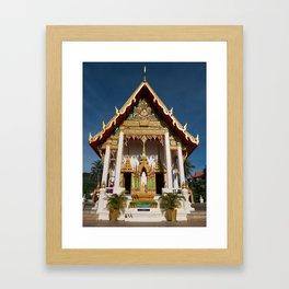 Wat Suwan Khirikhet, Karon Temple, Phuket, Thailand Framed Art Print