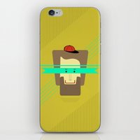 superhero iPhone & iPod Skins featuring current superhero by AmDuf