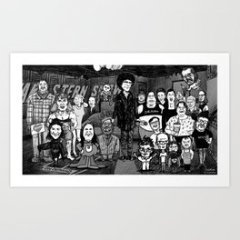 The Stern Wack Pack Art Print