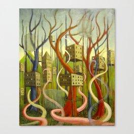 High-Rise Wilderness II Canvas Print