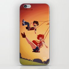 With You iPhone & iPod Skin