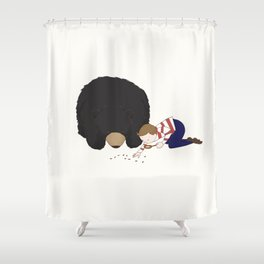 Henry and Hermione Shower Curtain