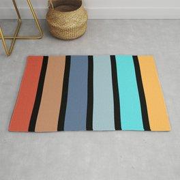 stripes minimal Rug