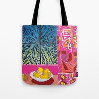 matisse Tote Bags featuring Matisse version by bbay