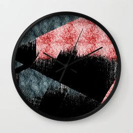 Inclined Plane Wall Clock