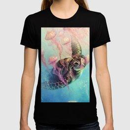 Sea Turtle and Jellyfish! T-shirt