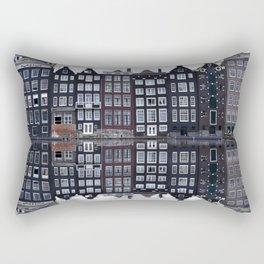 Amsterdam houses 1. Rectangular Pillow