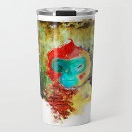 Blue Faced Monkey Travel Mug