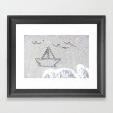 Our Love Summer I Framed Art Print