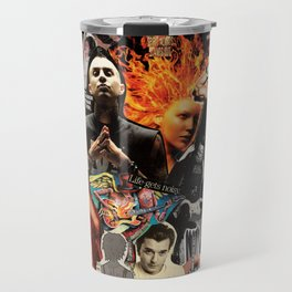 So many scruffy, guitar-wielding boys, so little. time. Travel Mug