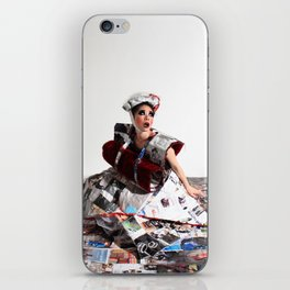 Trapped In the Fashion iPhone Skin