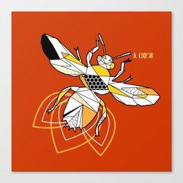 Geometric bzz bzz Canvas Print