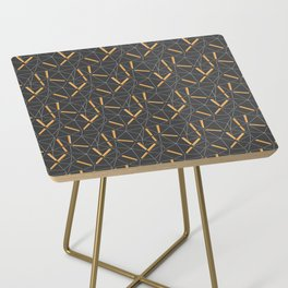 Yellow Prisma Side Table