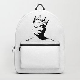 PORTRAIT OF THE BEST RAPPER OF ALL TIMES Backpack