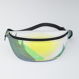 Mountain Calm Fanny Pack