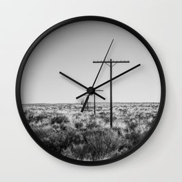 Old Route 66 Wall Clock