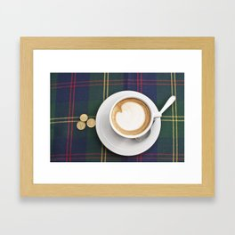 Siena Cappuccino Framed Art Print