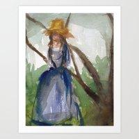 Girl No. 1 Art Print